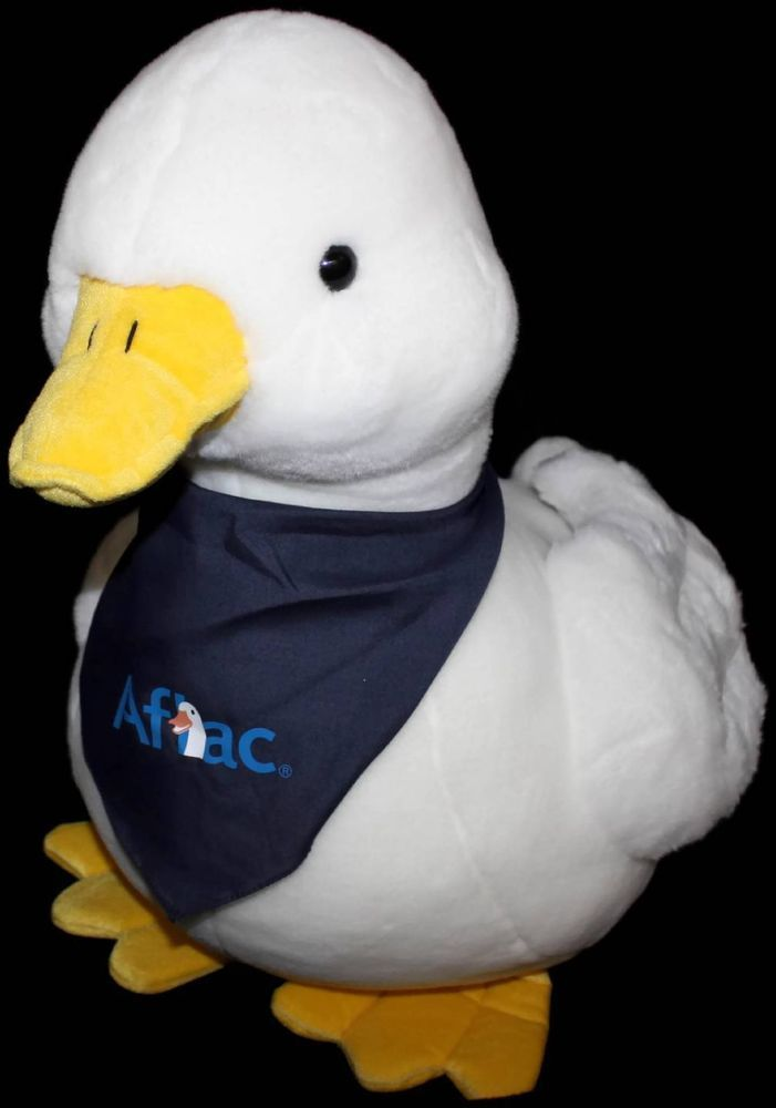 Huge AFLAC Duck Plush Talking Advertising Stuffed 21 x 24 ...