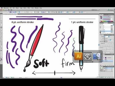 http://www.illustratoring.com Learn about the pen Tip Feel setting and pressure sensitivity for your Wacom Tablet with Laura Coyle. Demonstrated using Adobe ...