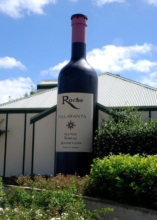 Giant Wine Bottle, Pokolbin, Hunter Valley, NSW