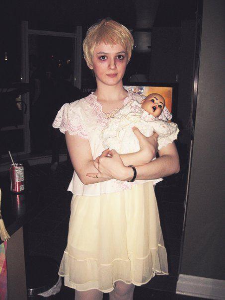 Halloween costume - Mia Farrow in Rosemary's Baby