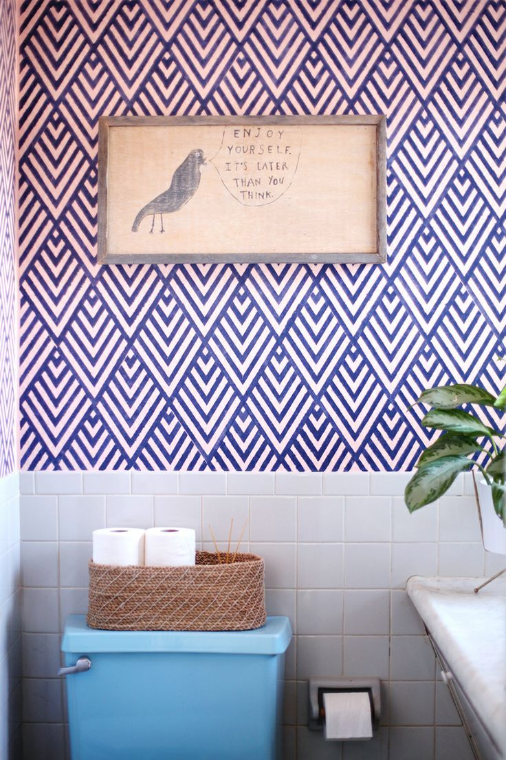 138 best wall coverings images on pinterest fabric wallpaper best wallpaper ideas for the bathroom architecture home design blue bathroom wallpaper bathroom ideas