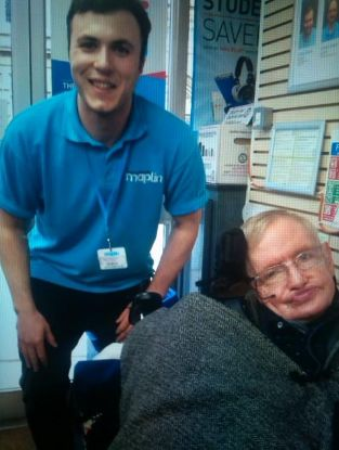 Stephen Hawking in our Cambridge store this weekend!