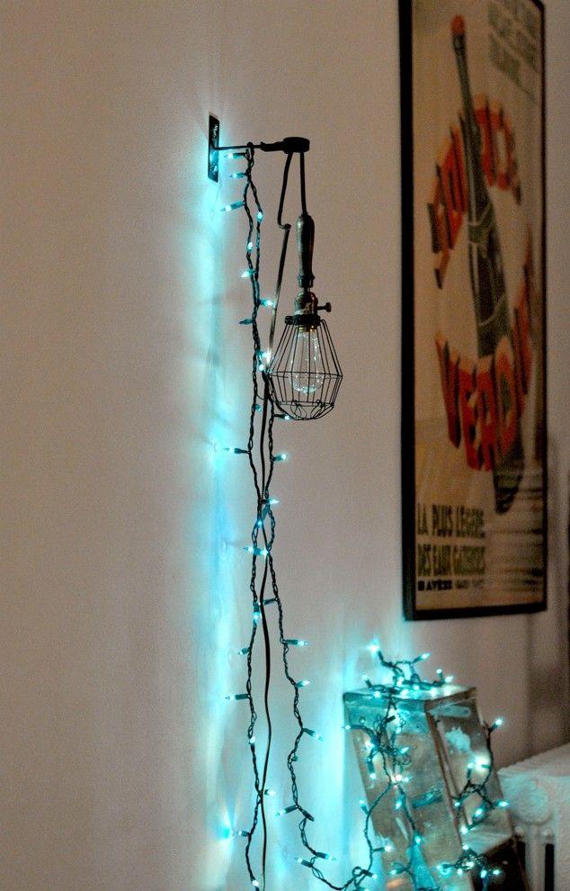 Wall String Lights For Bedroom: 41 Best String Lights Images On Pinterest