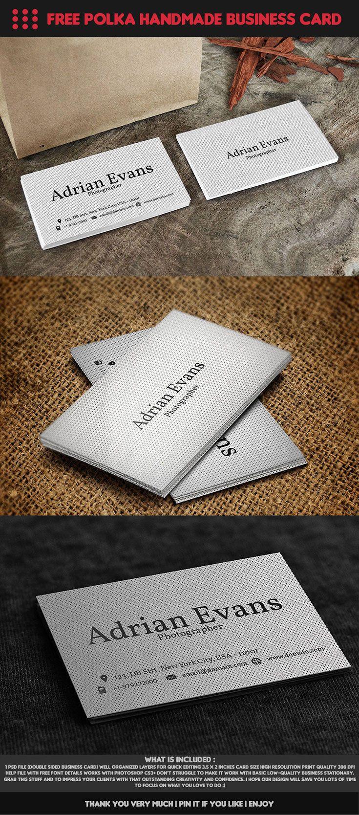 61 best Business Cards images on Pinterest | Business card design ...