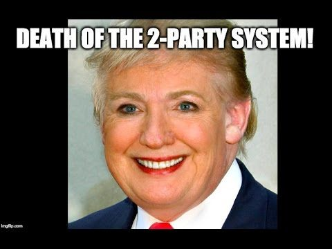 [99] Death Of 2-Party System, Hillary Paying Trolls, Legalization Of Ste...