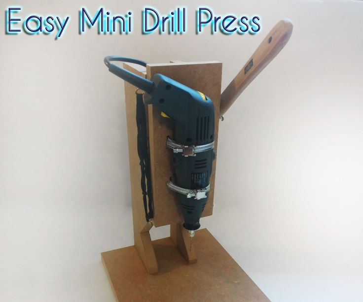 how to make drill machine at home easy