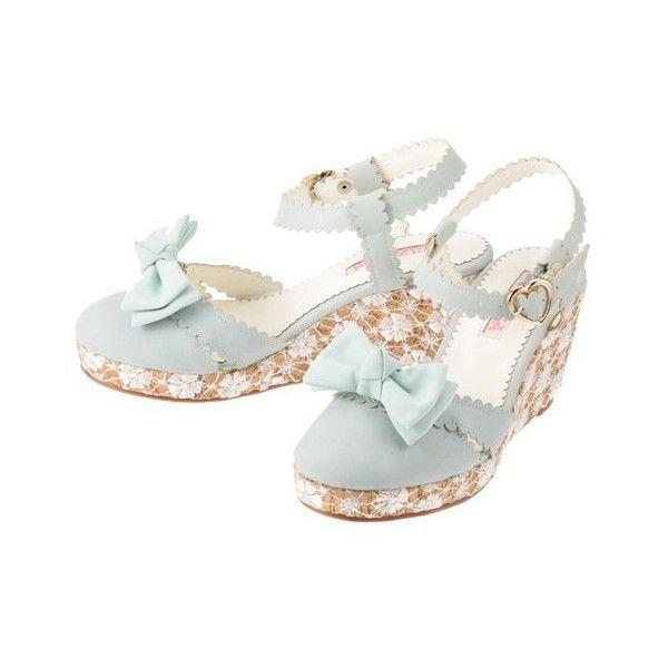 [リズリサ] LIZ LISA L1650 ($38) ❤ liked on Polyvore featuring shoes