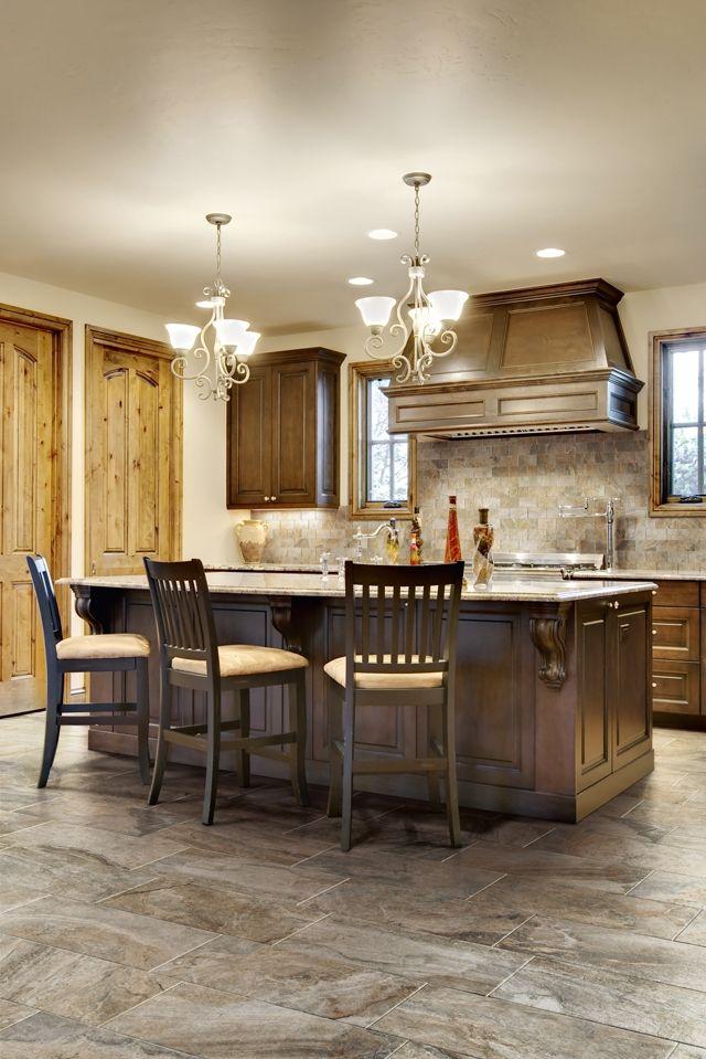 featuring wild italian tiles in color land walnut kitchen doordark wood of door