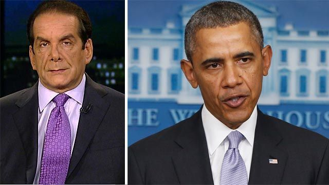 Krauthammer on Ukraine: 'Everybody is shocked by the weakness of Obama's statement' Published February 28>>>>