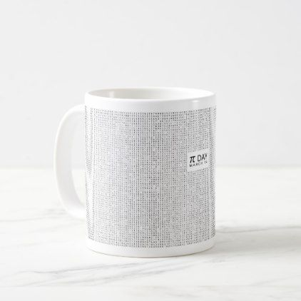 #Pi to the 10000th decimal place coffee mug - #office #gifts #giftideas #business