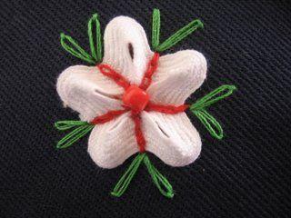 ric rac flower