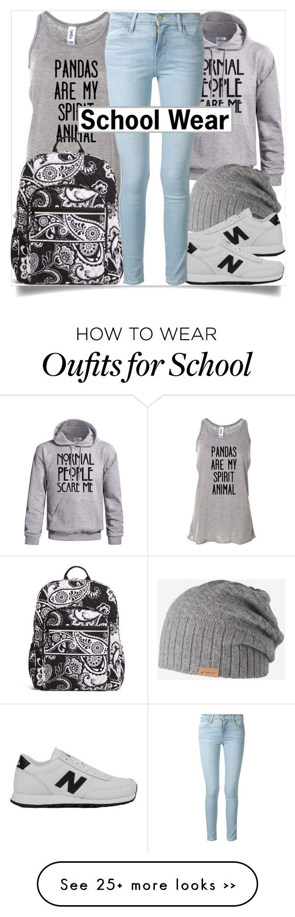 School Style by madeinmalaysia on Polyvore