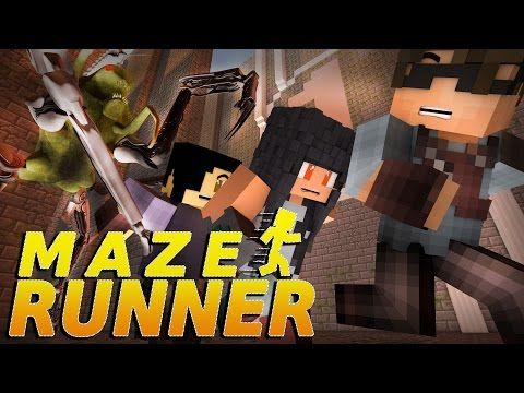 "Minecraft MAZE RUNNER! - ""SURVIVE THE NIGHT!"" #5 (Minecraft Roleplay) - YouTube"