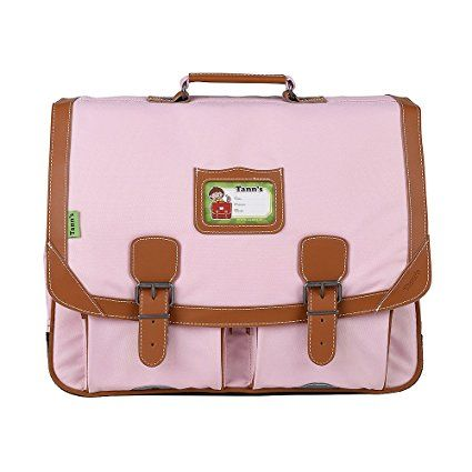Cartable 41 Rose Tann's VICHY: Amazon.fr: Bagages