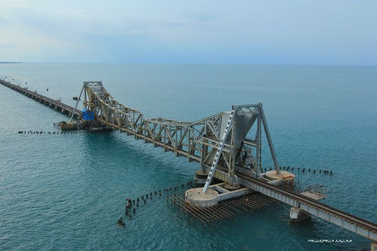 Pamban Bridge, Rameswaram, South India by Jasmin Sajna on 500px