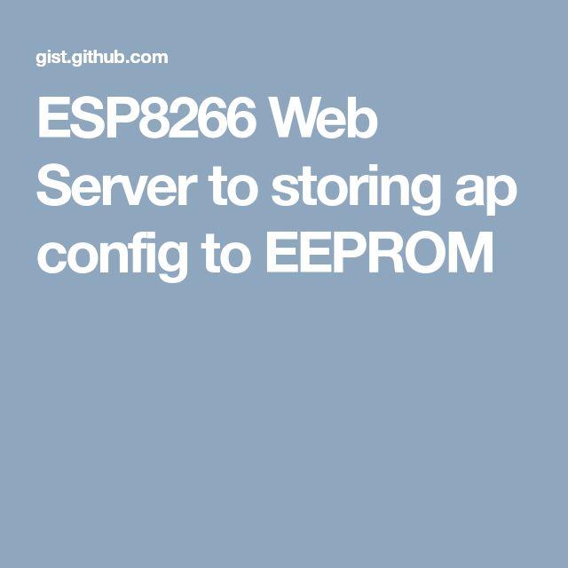 1025 best ESP8266 WIFI Modul images on Pinterest | Diy electronics ...
