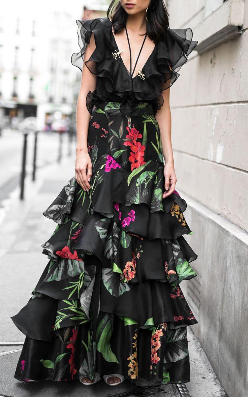 Puerto Asis Silk Organza Skirt by JOHANNA ORTIZ for Preorder on Moda Operandi