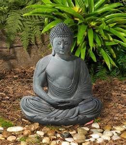 Buddha Garden Statue For Sale Peaceful Sitting Buddha Garden