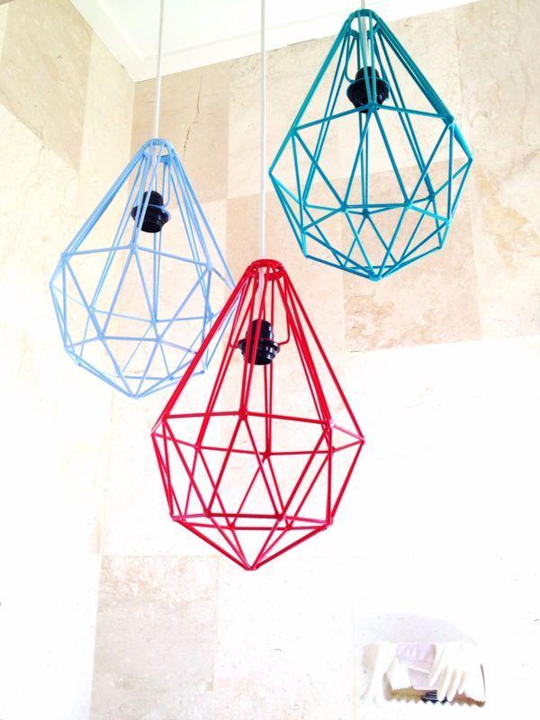 Tan Living´s Diamond Lamps.