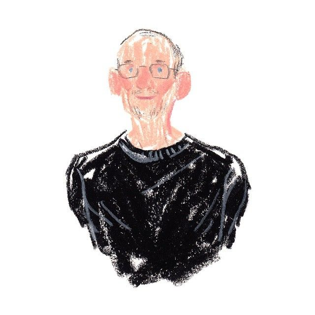 Rodolfo Dordoni sketched by Damien Florébert Cuypers. Check the other portraits…