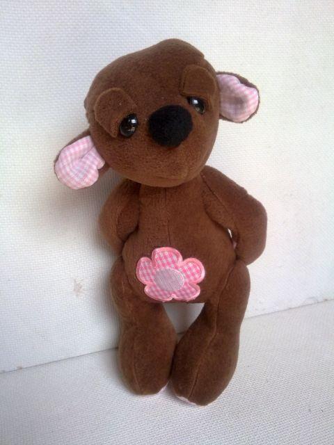 Hozene - Alvóka mackó  Baba, Játék, Plüssállat, rongyjáték, kb 20 cm magas, #bear #toy