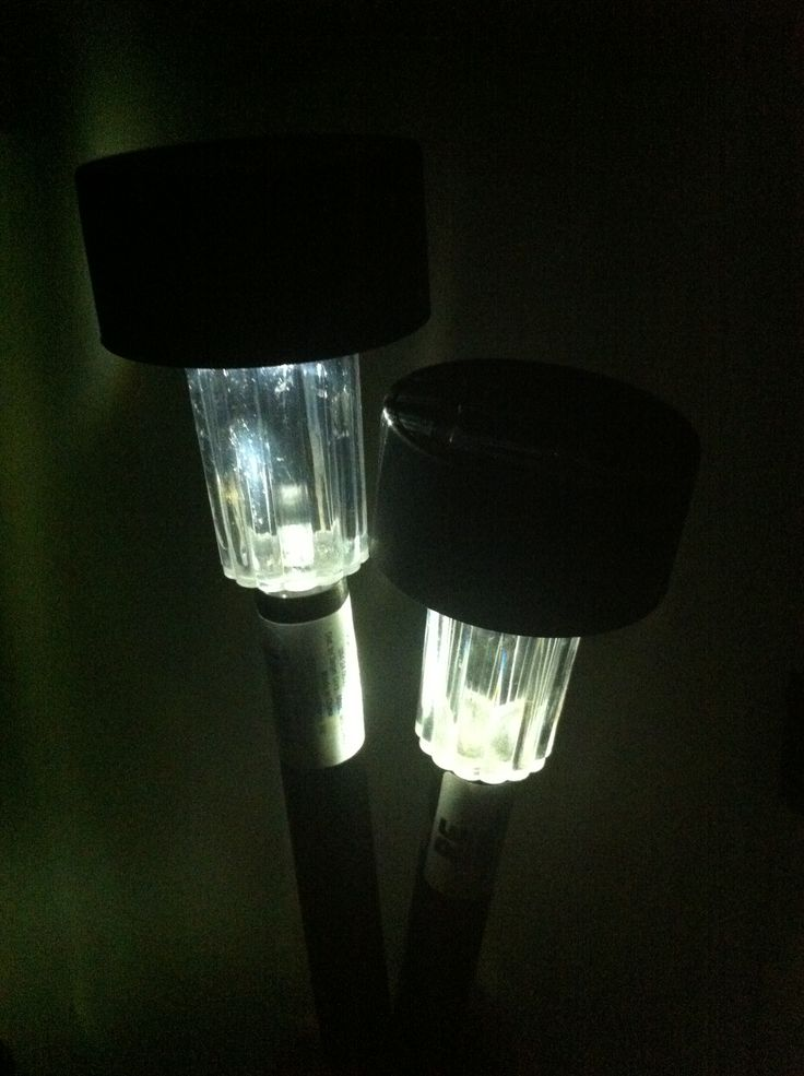Camping Tip: Use inexpensive solar pathway lights to light up places in your campsite like the campfire grill if it's folded out of the fire pit (to avoid tripping and falling into the fire) or the entrance of the tent. I bought these for $1.50 each in Target's end-of-summer clearance section.