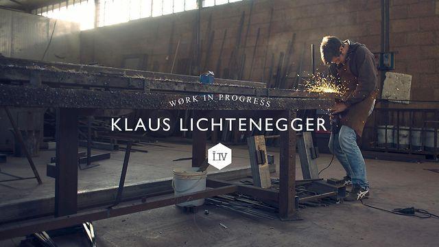 WORK IN PROGRESS - Klaus Lichtenegger