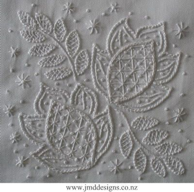 Whitework embroidery patterns