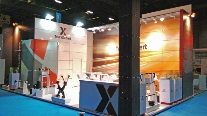 Truck Expert - Automechanica 2015 İstanbul Exhibition stand.