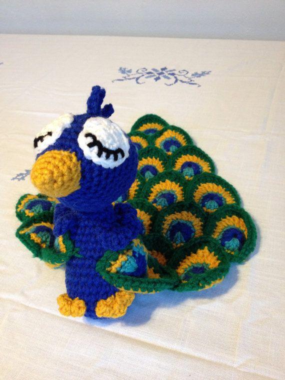 Amigurumi Star Wars De Ganchillo : Peacock Lovey by BabiesLoveLoveys on Etsy Crochet ...