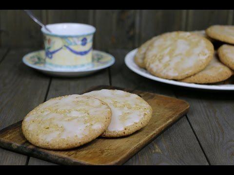 Овсяное печенье с корицей и лимонной глазурью - YouTube