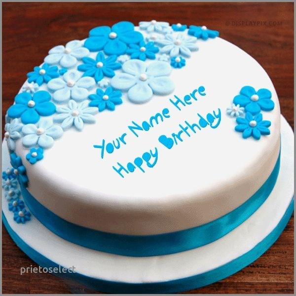Birthday Cake With Name Editor Online Inspirational Cakes