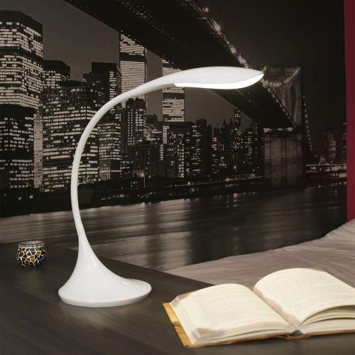 Lampe Lampe de Bureau Otto LED Blanc Lampe de Bureau Otto LED Blanc