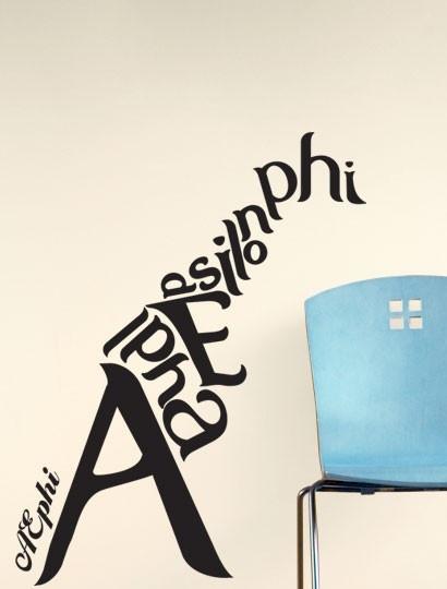 Alpha Epsilon Phi giraffe decal--perfect for your sorority house or sorority suite! http://www.dormify.com/greek/alpha-epsilon-phi/alpha-epsilon-phi-giraffe-decal