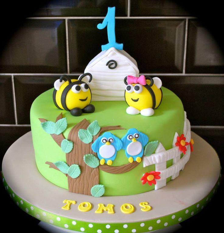 The Hive Buzzbee Birthday Cake