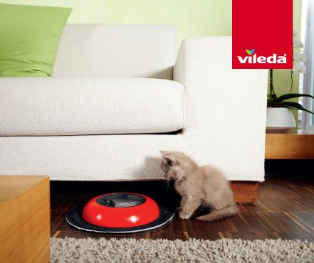 If your pet seems a little bored at home, add a Virobi for their entertainment and to clean up after them!