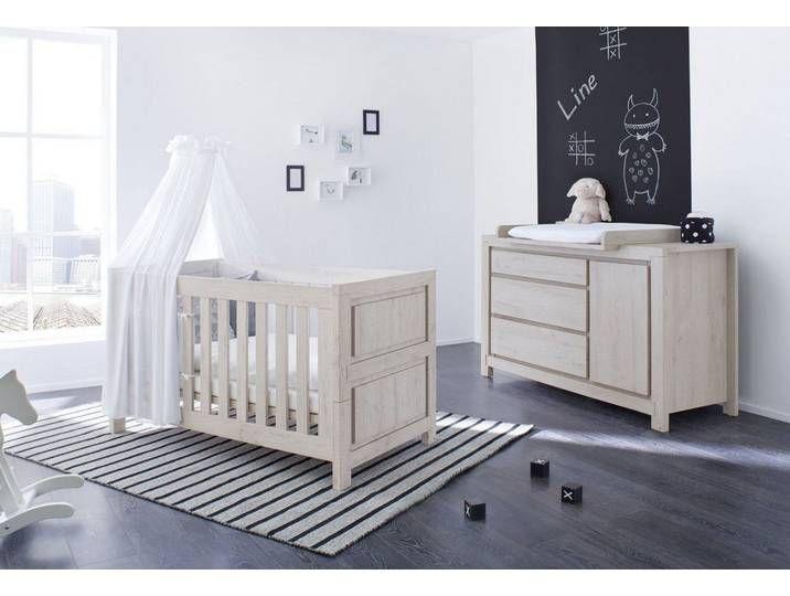 Babymobel Set Line Grau Pinolino In 2020 Toddler Bed Home