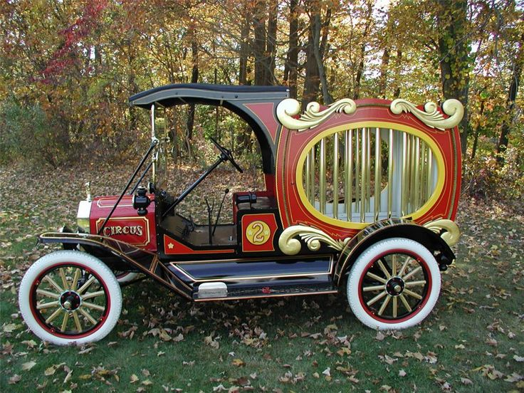 1915 FORD MODEL T CIRCUS WAGON - Side Profile - 20442