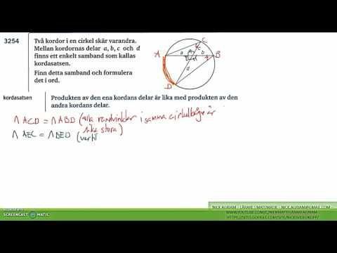 Matematik 5000 Ma 2c   Kapitel 3   Geometri - Likformighet - Några bevis...
