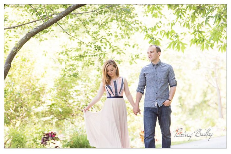 Meadowlark Gardens Engagement Photographer Northern Virginia
