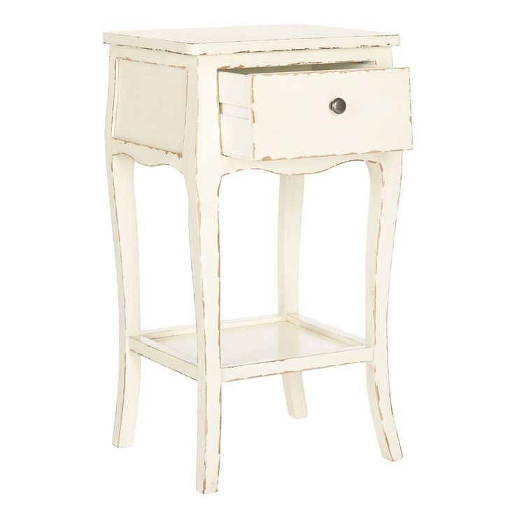 Safavieh Thelma Distressed End Table, Natural