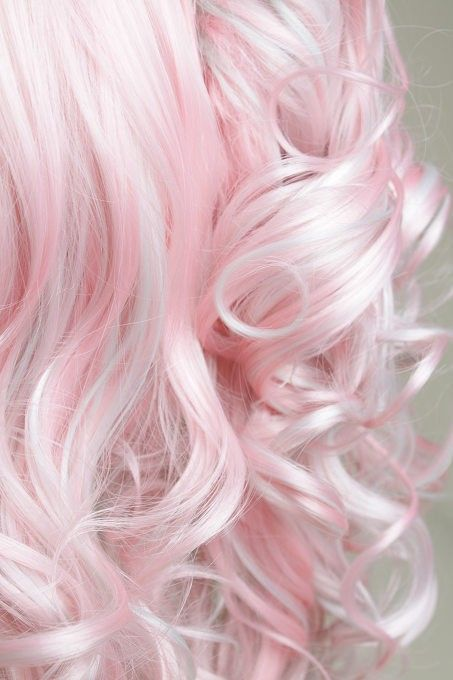 Pastel pink hair - maintain colours like these with a color refreshing shampoo and a protein treatment to strengthen your hair...