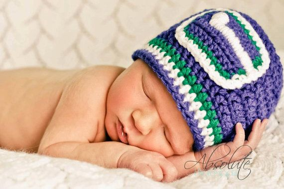 Vancouver Canucks Inspired BEANIE by EternallyHooked on Etsy, $25.00