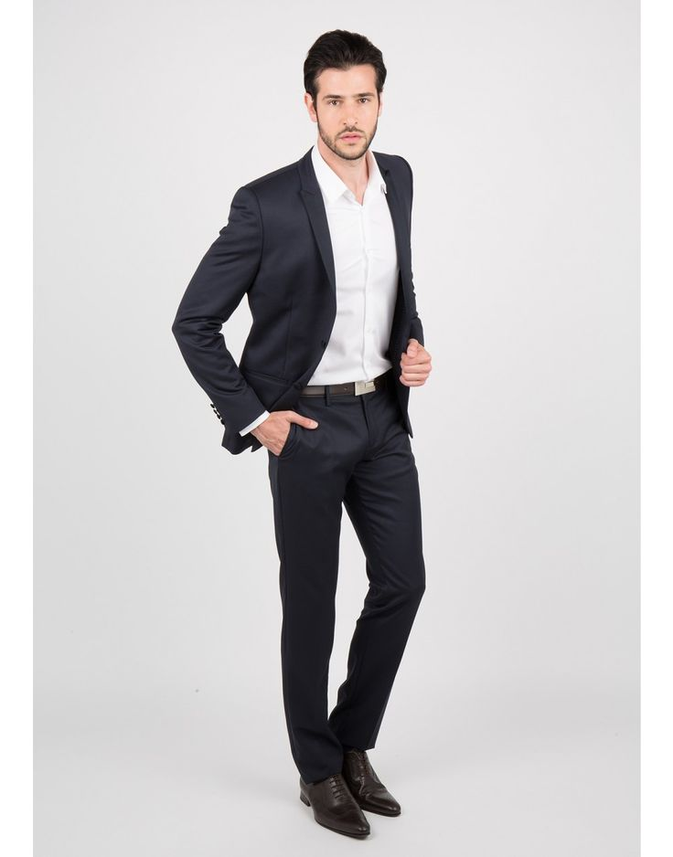 Smoking bleu marine coupe slim marine - costume homme - father and sons 1                                                                                                                                                                                 Plus