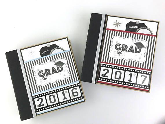 Graduation Album Kit or Premade Scrapbook Album Custom School