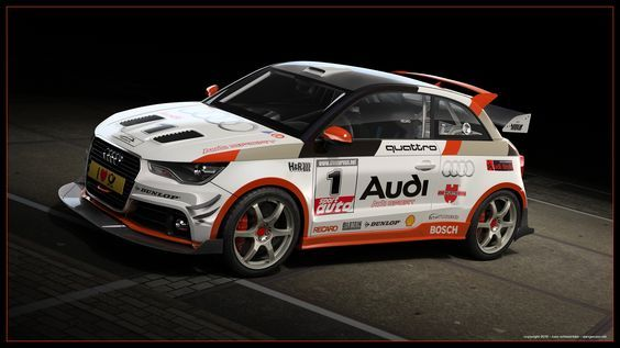 Audi Motorsport Blog: Artwork: Audi A1 quattro WRC: