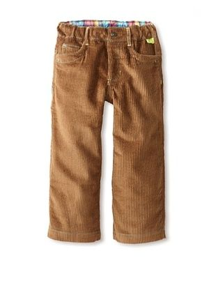 75% OFF Kartoons Kid's Soft Cord Pant (Brown)
