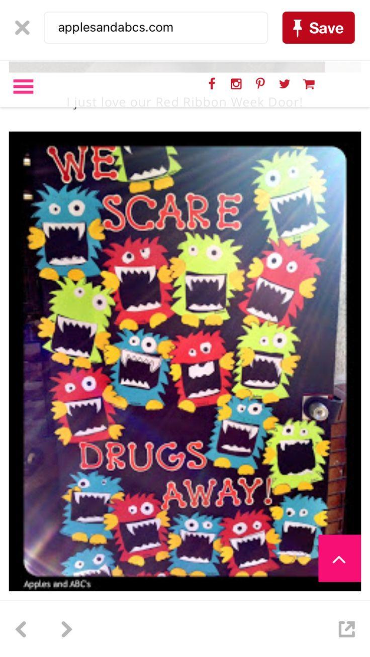 22 best anti drugs boards u0026 doors images on pinterest red ribbon