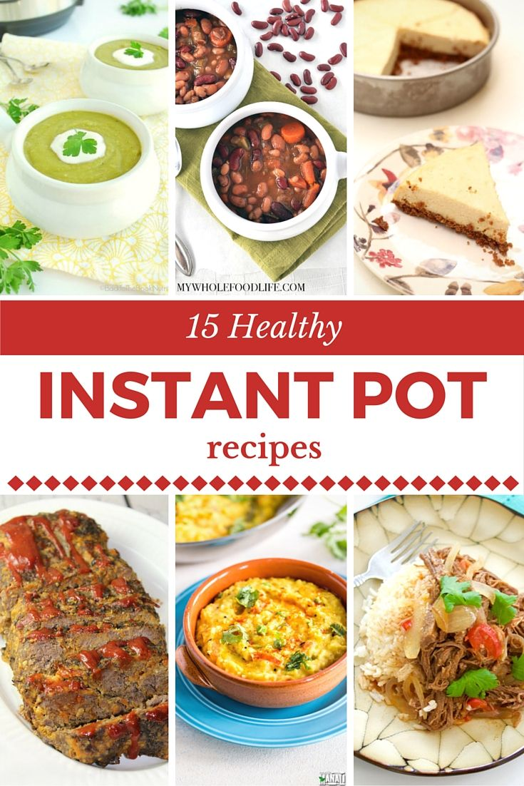 Are you short on time but still want to serve your family healthy and nutritious food? These 15 Best Healthy Pressure Cooker Recipes are ready in a fraction of the usual stovetop cooking time and can all be made in the Instant Pot.