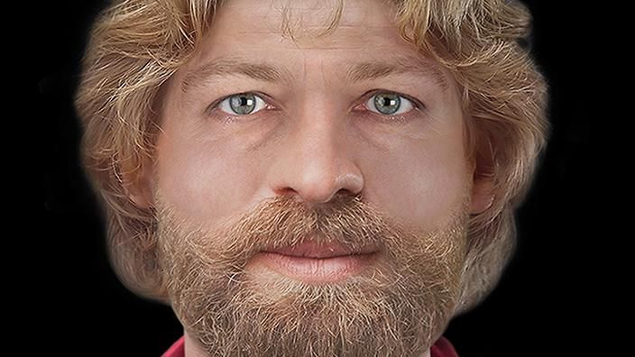 To mark the 900th Anniversary of Magnus Erlendsson's death a facial reconstruction was made by a forensic artist Hew Morrison